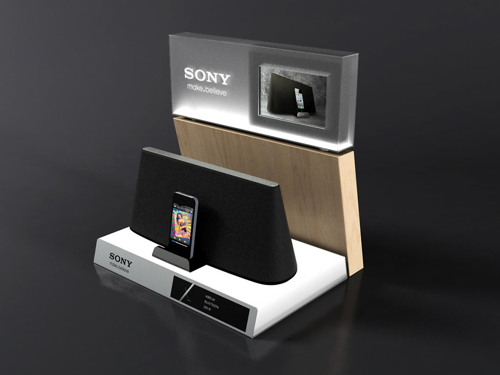 Sony Xtreme display stand